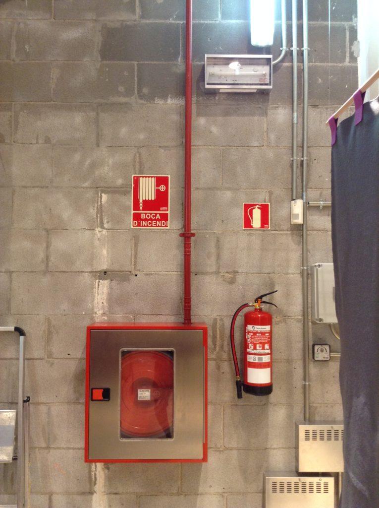sistemas contraincendios