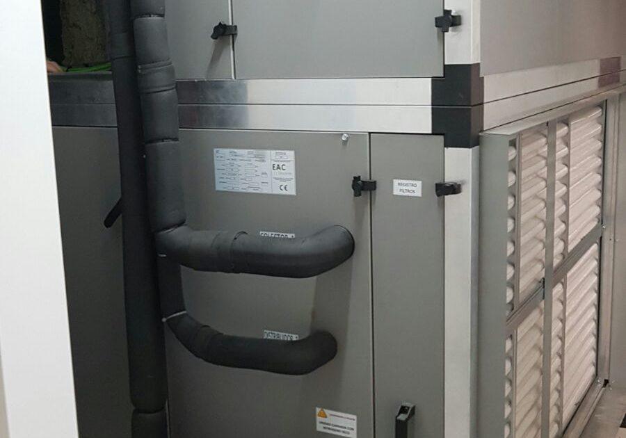 unidad tratamiento aire