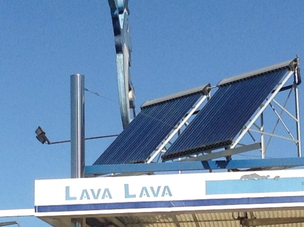 Energía solar piscina