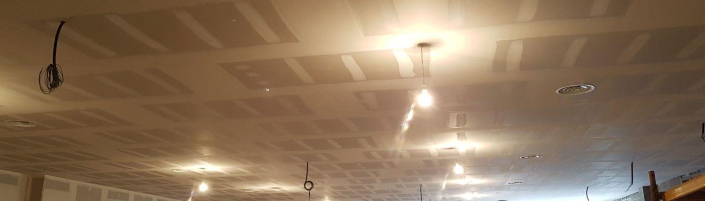 distribución rejillas en falso techo