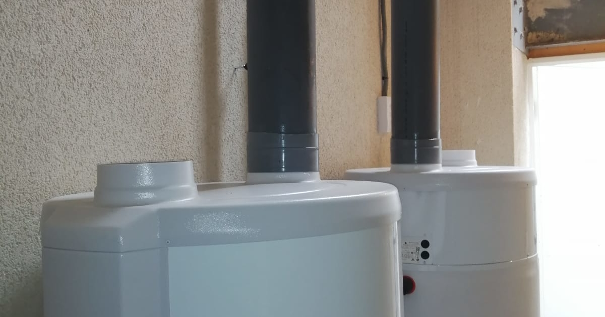 depósito agua aerotermia