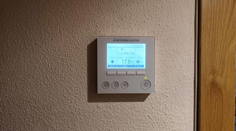 Climatización vivienda