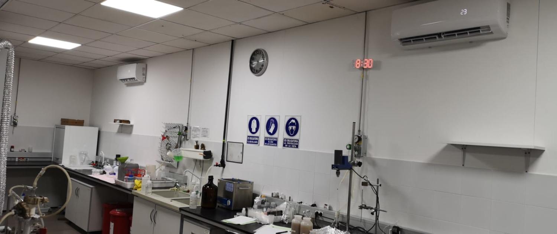 Climatización laboratorio