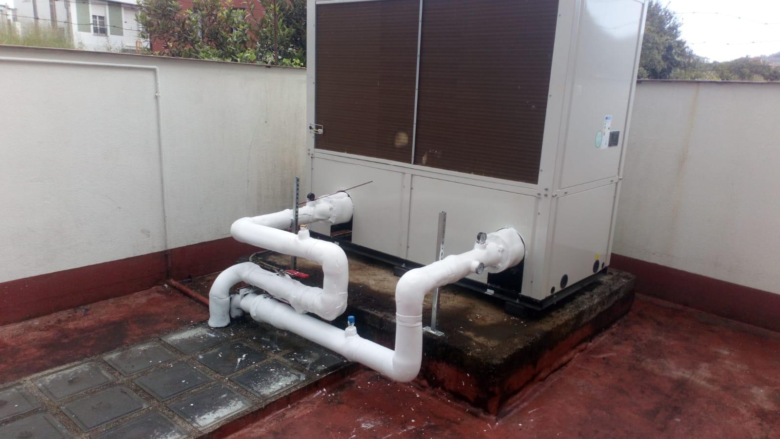 Climatización hotel